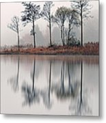 Loch Ard Reflections Metal Print