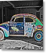 Lonely Old Bug Metal Print