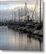 Long Beach Marina  Metal Print