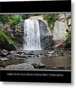 Looking Glass Falls North Carolina Metal Print