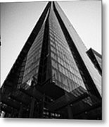 looking up at the shard building London England UK Metal Print
