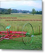 Lord Of The Harvest Metal Print