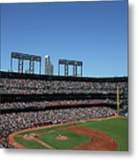 Los Angeles Dodgers V. San Francisco Metal Print