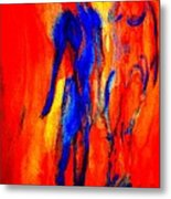 If I Tell You Love Is In The Air You Will Believe That Love Is In Your Ear  Metal Print
