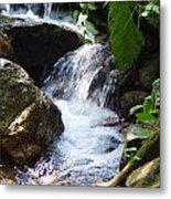 Lower Granite Falls Metal Print