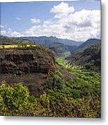 Lower Waimea Canyon Metal Print
