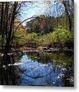 Mansfield Hollow Lake Metal Print