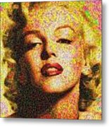 Marilyn Monroe - 100 Dollars Metal Print