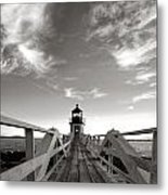 Marshall Point Light Metal Print
