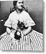 Mary Todd Lincoln (1818-1882) Metal Print