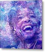 Maya Angelou Metal Print