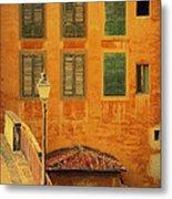 Medieval Windows Metal Print