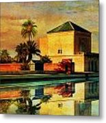 Medina Of Marakkesh Metal Print by Catf