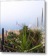 Mediterranean Below Eze Metal Print