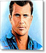 Mel Gibson Metal Print by Andrew Read