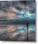 Melvin Bay Fog Metal Print