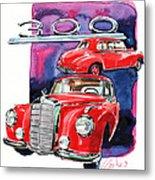 Mercedes 300 Metal Print