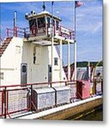 Merrimac Ferry - Wisconsin Metal Print