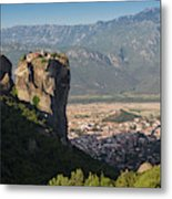 Meteora, Thessaly, Greece. The Eastern Metal Print