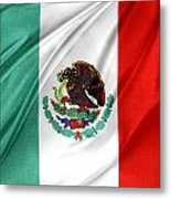 Mexican Flag Metal Print