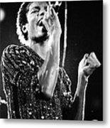 Michael Jackson 1981 Metal Print