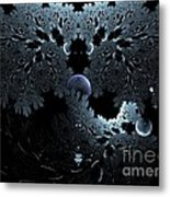 Midnight Ocean Waves Metal Print