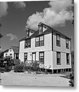 Mission House Metal Print