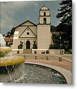 Mission San Buenaventura Metal Print
