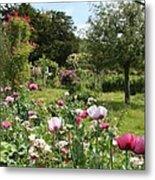 Monets Garden - Giverney - France Metal Print