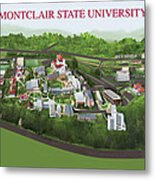 Montclair State University Metal Print by Rhett and Sherry  Erb