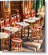 Montmartre Cafe Metal Print