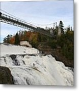 Montmorency Waterfall  Canada Metal Print