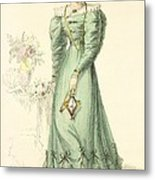 Morning Dress, Fashion Plate Metal Print