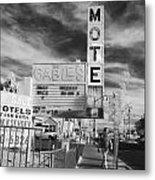 2 Motels Metal Print