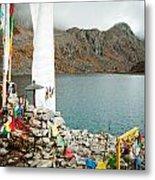 Mountain Lake Gosaikunda Nepal Metal Print