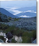 Mt. Washington Blue Hour Metal Print