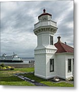 Mukilteo Lighthouse Metal Print