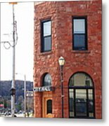 Munising Michigan - City Hall Metal Print