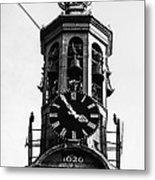 Munttoren Clock Tower Metal Print