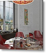 My Art In The Interior Decoration - Elena Yakubovich Metal Print by Elena Yakubovich