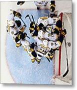 Nashville Predators V Anaheim Ducks - Metal Print