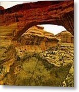 Natural Bridge Metal Print by Jeff Swan
