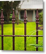 New Orleans Cottage Metal Print
