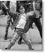 New York Dance Parade 2013 Young Female Dancer Metal Print