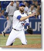New York Yankees V Toronto Blue Jays Metal Print