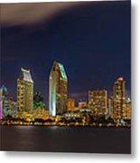 Cityscape San Diego Bay Metal Print