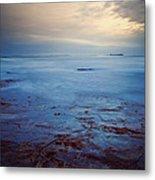 Northumberland Coast Metal Print