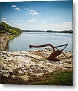 Ohio River At Elizabethtown Illinois Metal Print