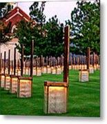 Oklahoma City Memorial Metal Print