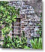 Old City Jail Window Metal Print